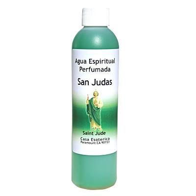 Agua espiritual perfumada para riegos y baños.