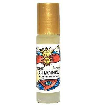Perfume Amuleto Channel con feromonas. (Mujer)